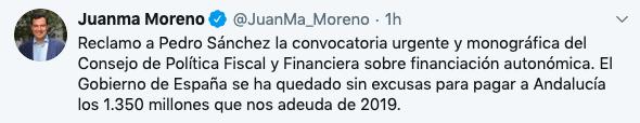 Andalucía y Galicia piden a Sánchez la convocatoria
