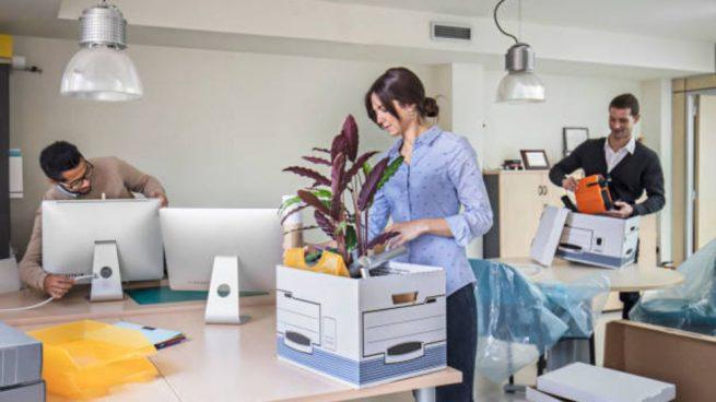 El coronavirus frena el alquiler de oficinas: baja un 34% en Madrid hasta marzo