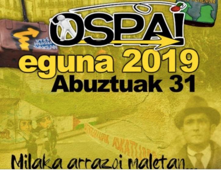Cartel del 'Ospa Eguna' de este año.