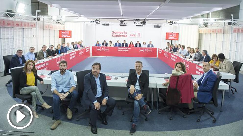 Comité Ejecutivo Federal del PSOE. (Foto: PSOE)