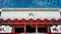 La entrada principal del FEstival de Cine de Venecia que arranca su 76ª edición. Foto: AFP