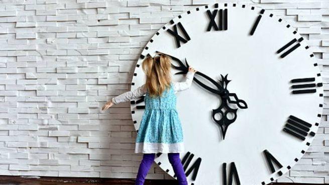 enseñar niños a leer la hora