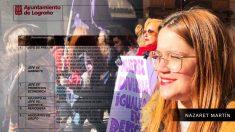 Nazaret Martín es asesora del Grupo de Unidas Podemos en el Ayuntamiento de Logroño desde el pasado julio.