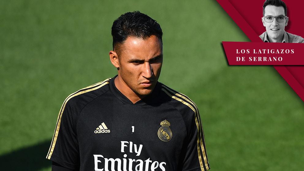 Keylor Navas se marcha del Real Madrid al PSG.