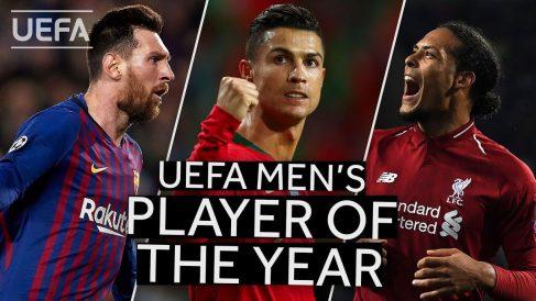 Messi, Cr7, Van Dijk