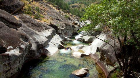 Las piscinas formadas por la naturaleza son realmente espectaculares