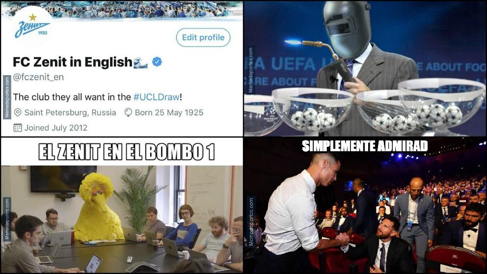 Los mejores memes del sorteo de la Champions League.