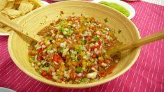 Receta de Salsa criolla argentina