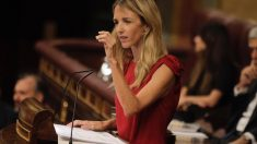 Cayetana Álvarez de Toledo, este jueves, en su estrena como portavoz parlamentaria. Foto: Francisco Toledo