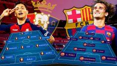 Griezmann tendrá que llevar la batuta del Barça.