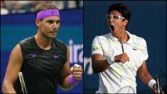 Rafael Nadal y Hyeon Chung.