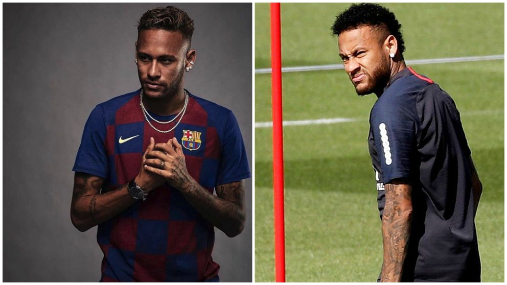 Neymar y la foto de la discordia.