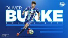 Oliver Burke, nuevo fichaje del Alavés (Deportivo Alavés)
