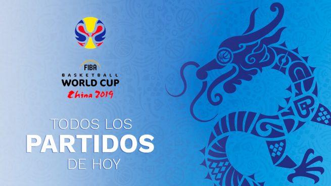 Susurro estético Tesauro  Copa Mundial de Baloncesto 2019: partidos de hoy, domingo 8 de septiembre