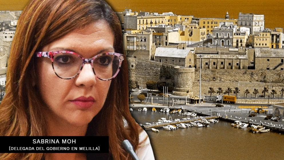 Sabrina Moh, delegada del Gobierno en Melilla