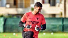 Sergio Rico entrenando con el Sevilla (@Sergiorico25)