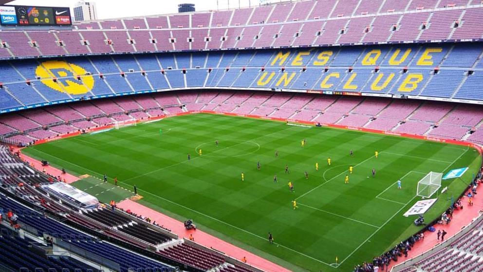 El Camp Nou es el estadio con mayor capacidad de España