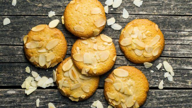Receta de galletas de vainilla con almendras y chocolate blanco
