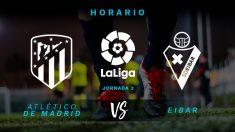 El Atlético busca el liderato en solitario de la Liga.