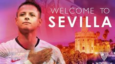 Chicharito Hernández, nuevo jugador del Sevilla (Sevilla Fútbol Club)