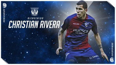 Christian Rivera, nuevo fichaje del Leganés (Club Deportivo Leganés)