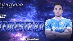 Jason Remeseiro, nuevo futbolista del Getafe (Getafe Club de Fútbol)