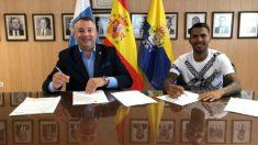 Miguel Ángel Ramírez y Jonathan Viera (Unión Deportiva Las Palmas)