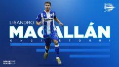 Lisandro Magallán, nuevo fichaje del Alavés (Deportivo Alavés)