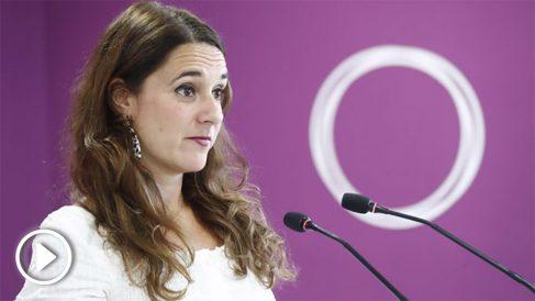 Noelia Vera, portavoz de Podemos @EP