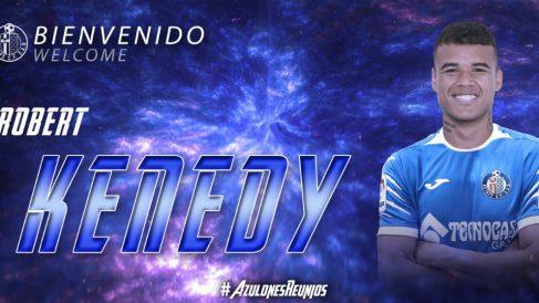 Robert Kenedy, nuevo fichaje del Getafe (Getafe Club de Fútbol)