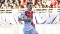 Robert Navarro con el Mónaco (Real Sociedad)