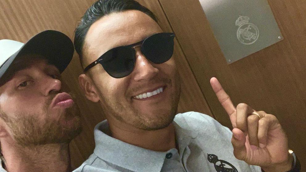 Sergio Ramos y Keylor Navas.