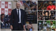 Zidane espera un bombazo en las últimas horas del mercado de fichajes. (AFP)