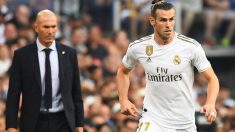 Bale, durante un partido de esta temporada. (AFP)