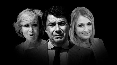 Los tres ex presidentes madrileños imputados en Púnica.