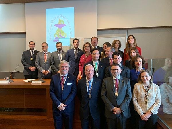 Junta de Gobierno del Colegio de Farmacéuticos de Málaga (Foto: ICOFMA)