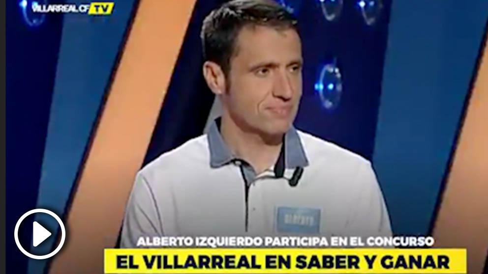 Alberto Izquierdo en Saber y Ganar