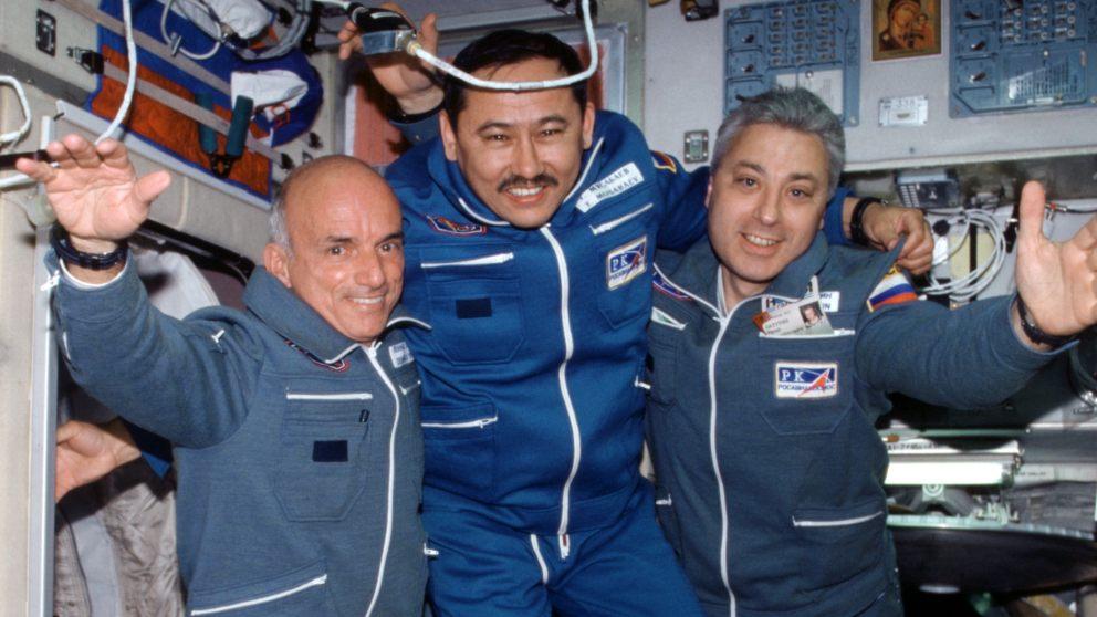 Conoce a los turistas espaciales de la historia