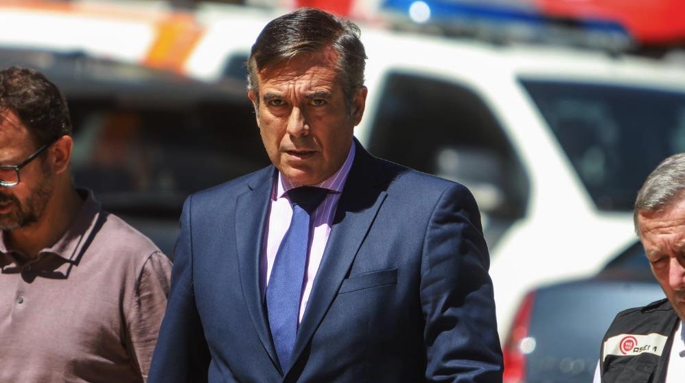 El consejero de Justicia, Interior y Víctimas de la Comunidad de Madrid, Enrique López. (Foto. Comunidad de Madrid)