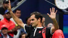 Federer se despide del US Open tras perder con Dimitrov. (AFP)
