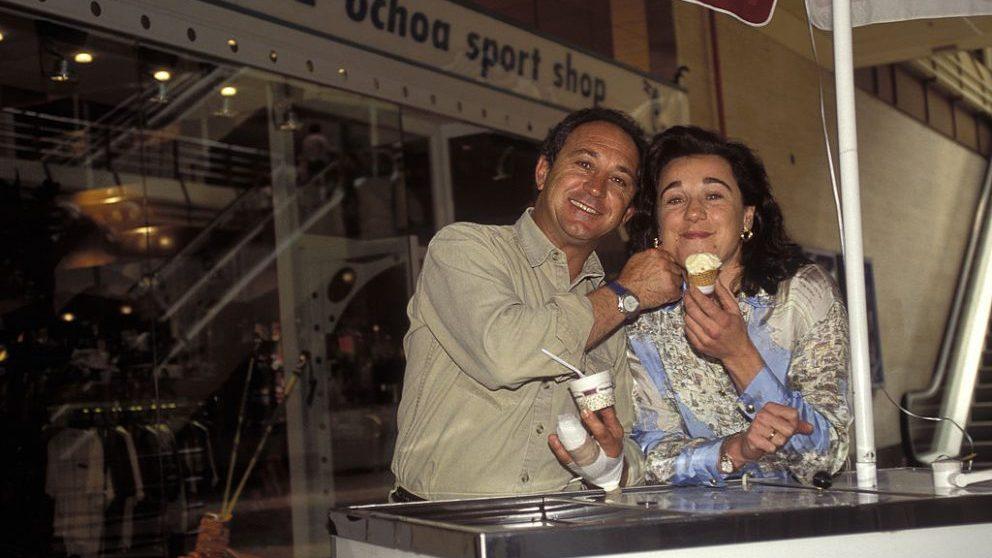 Blanca y su hermano Paquito en 1995 @Getty