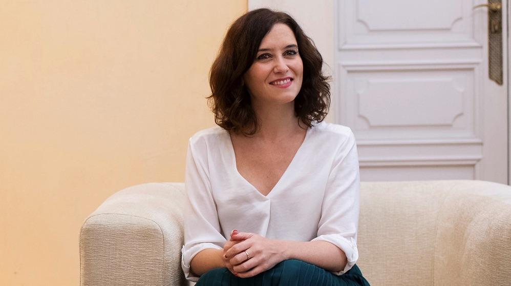 Isabel Díaz Ayuso. (Foto. Comunidad)