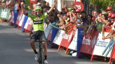 Iturria se llevó la undécima etapa de la Vuelta a España 2019. (AFP)