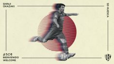 Shinji Okazaki, nuevo fichaje del Huesca (Sociedad Deportiva Huesca)