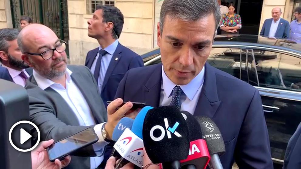 Pedro Sánchez lamenta la muerte de Blanca Fernández Ochoa.