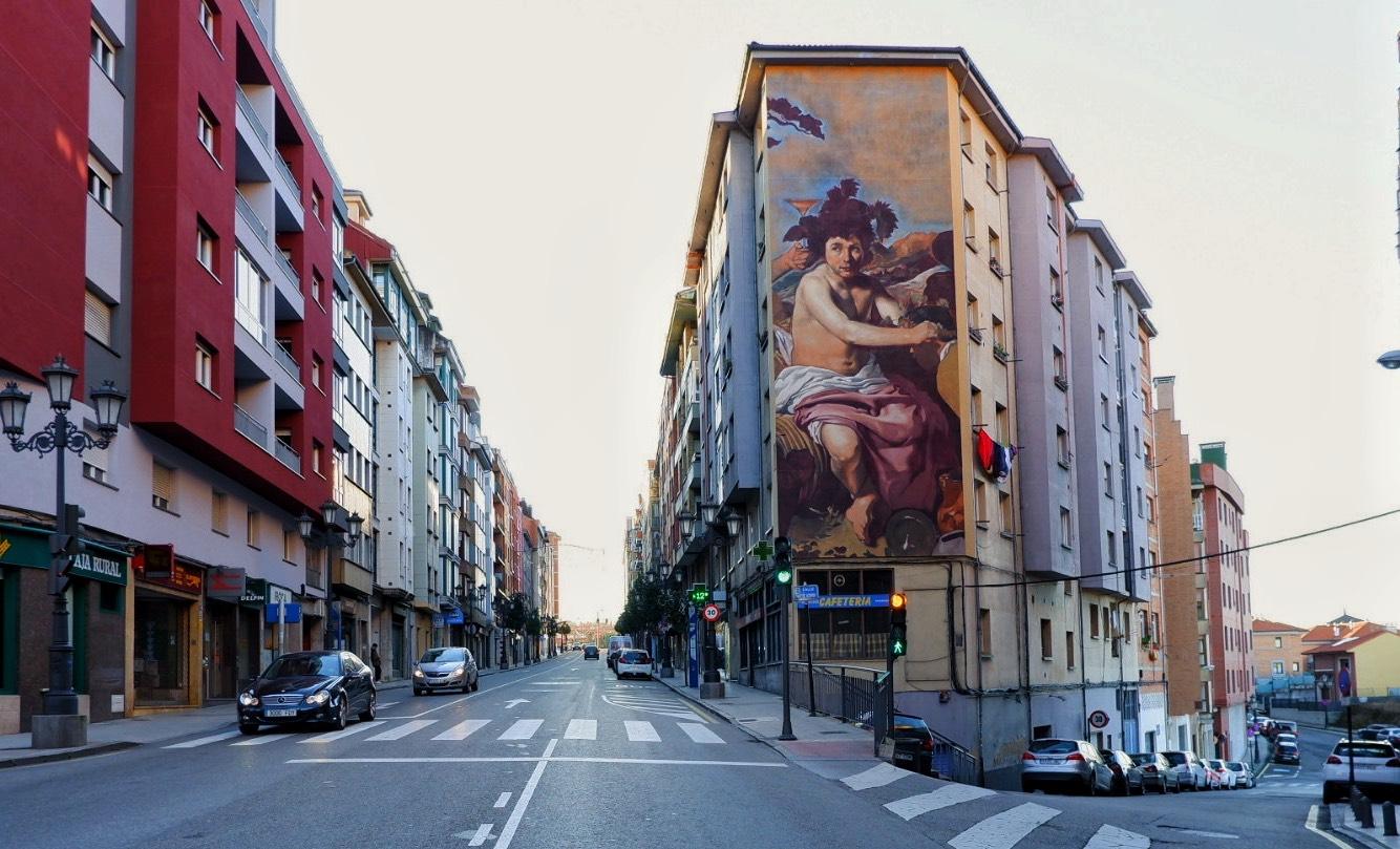 Una obra del italiano Andrea Ravo. / Foto: Fernando Alcalá