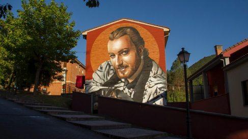 El homenaje a Tino Casal en su localidad natal, Tudela Veguín. / Foto: Mirahaciatrás