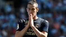 Gareth Bale se lamenta durante un partido con el Real Madrid. (AFP)