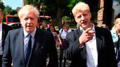 Jo Johnson y su hermano el primer ministro de Reino Unido, Boris Johnson. Foto: EP