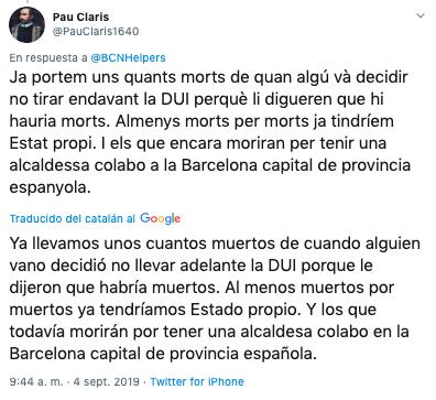 La inseguridad en Barcelona une a separatistas y constitucionalistas: todos piden la dimisión de Colau